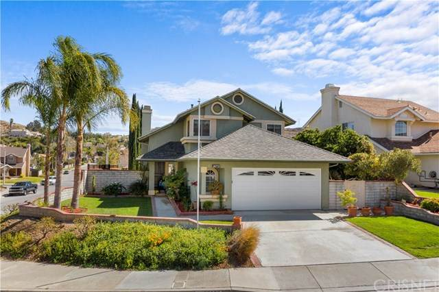 28772 Magnolia Way, Saugus, CA 91390 (#SR21043368) :: HomeBased Realty