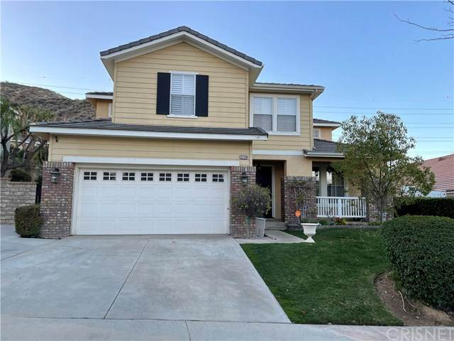 22126 Crestline Trail, Saugus, CA 91390 (#SR21036305) :: HomeBased Realty