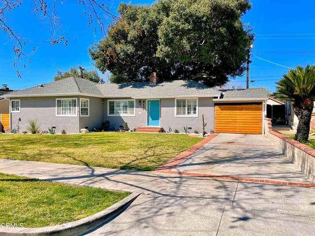 417 Eaton Drive, Pasadena, CA 91107 (#P1-3649) :: Compass