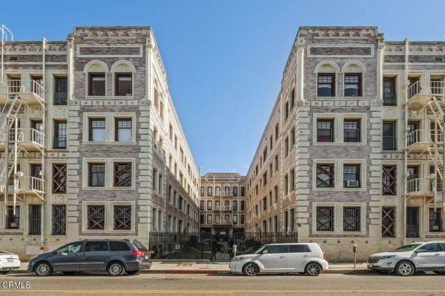 2121 James M Wood Boulevard #410, Los Angeles, CA 90006 (#P1-3910) :: Lydia Gable Realty Group
