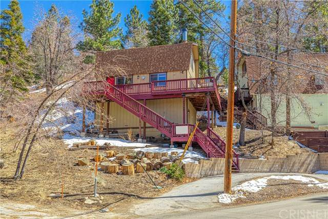 43136 Sunset Drive, Big Bear, CA 92315 (#SR21063110) :: TruLine Realty
