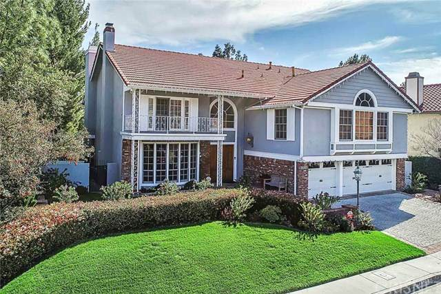 18300 Chatham Lane, Porter Ranch, CA 91326 (#SR21062069) :: TruLine Realty
