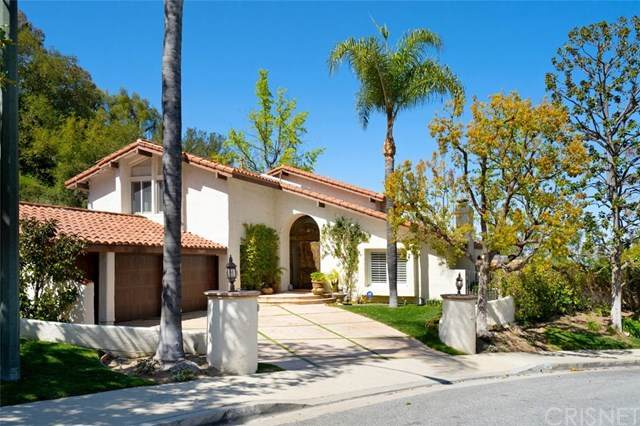 23687 Park Belmonte, Calabasas, CA 91302 (#SR21064758) :: TruLine Realty