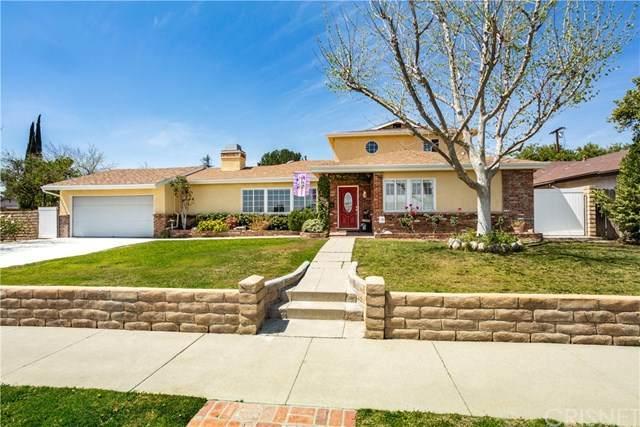 10401 Andasol Avenue, Granada Hills, CA 91344 (#SR21071722) :: TruLine Realty