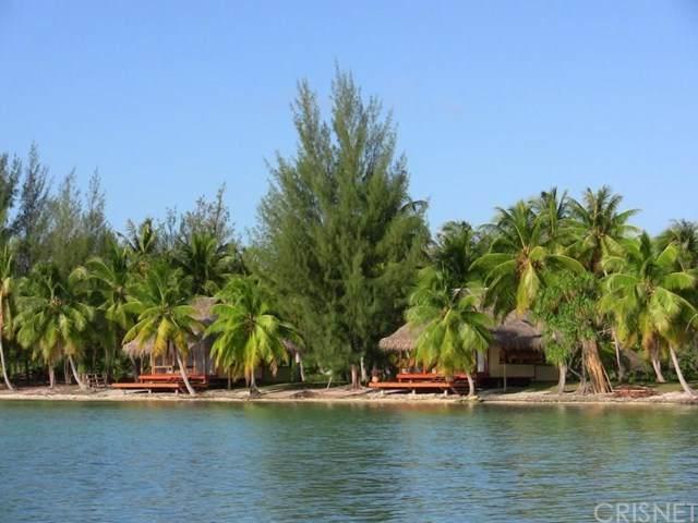 1 Motu Moie French Polynesia, Taha'a, Outside Area (Outside Ca), OS 88888 (#SR21071011) :: TruLine Realty