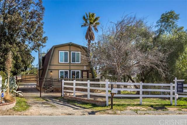 34718 Agua Dulce Canyon Road, Agua Dulce, CA 91390 (#SR21075868) :: The Grillo Group