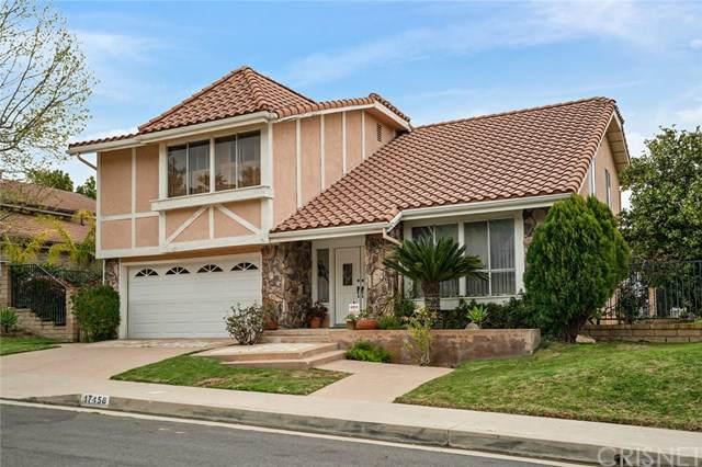 17458 Doric Street, Granada Hills, CA 91344 (#SR21074839) :: TruLine Realty