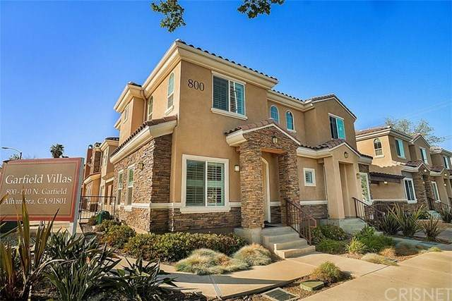 800 N Garfield Avenue A, Alhambra, CA 91801 (#SR21085791) :: Randy Plaice and Associates