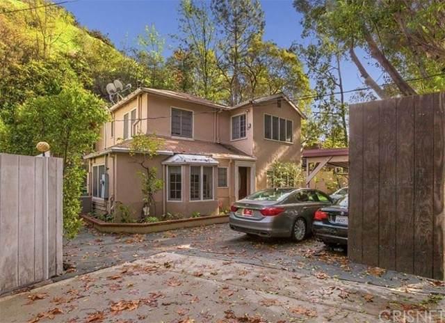 1712 N Beverly Glen Boulevard, Bel Air, CA 90077 (#SR21086644) :: TruLine Realty