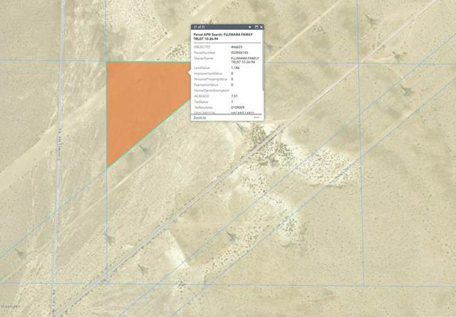 7 Acres On Coyote Lake Rd., Newberry Springs, CA 92365 (#V1-5491) :: Berkshire Hathaway HomeServices California Properties
