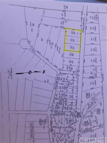 0 San Martinez Road, Val Verde, CA 91384 (#SR21093631) :: The Bobnes Group Real Estate