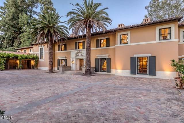 100 Los Altos Drive, Pasadena, CA 91105 (#P1-4588) :: Berkshire Hathaway HomeServices California Properties