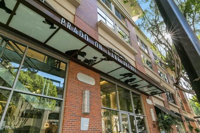 840 E Green Street #506, Pasadena, CA 91101 (#P1-4603) :: Berkshire Hathaway HomeServices California Properties