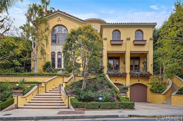14151 Beresford Road, Beverly Hills, CA 90210 (#SR21093867) :: Compass