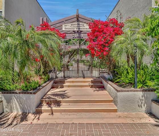 21901 Lassen Street #143, Chatsworth, CA 91311 (#221002418) :: Montemayor & Associates