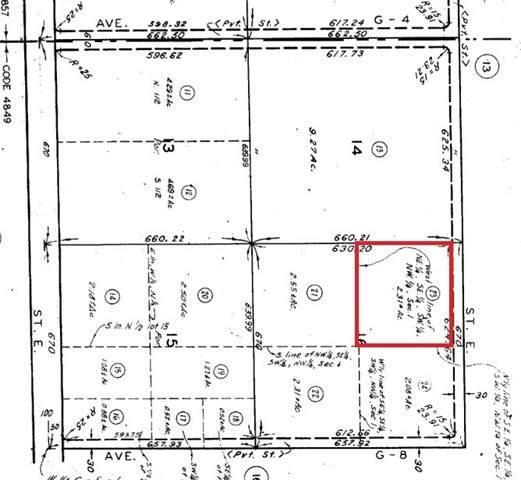 0 12th St East And Avenue G6, Lancaster, CA 93535 (#SR21101939) :: Montemayor & Associates