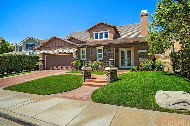 26815 Pine Hollow Court, Valencia, CA 91381 (#SR21121885) :: Lydia Gable Realty Group