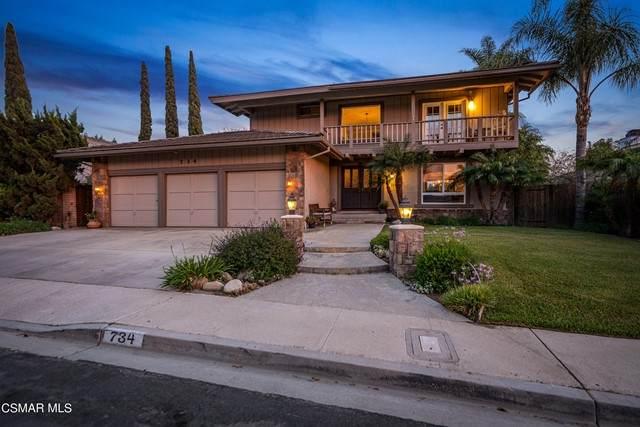 734 San Doval Place, Thousand Oaks, CA 91360 (#221003077) :: Montemayor & Associates