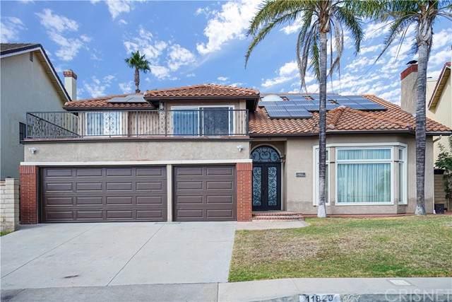 11820 Stewarton Drive, Porter Ranch, CA 91326 (#SR21123409) :: Montemayor & Associates