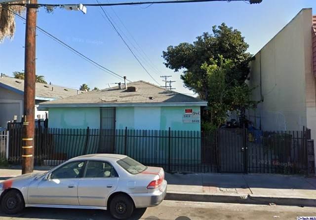 8414 S San Pedro Street, Los Angeles, CA 90003 (#320006400) :: The Suarez Team