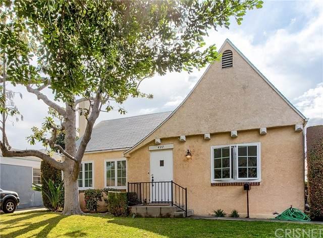 427 S Griffith Park Drive, Burbank, CA 91506 (#SR21125901) :: Angelo Fierro Group   Compass