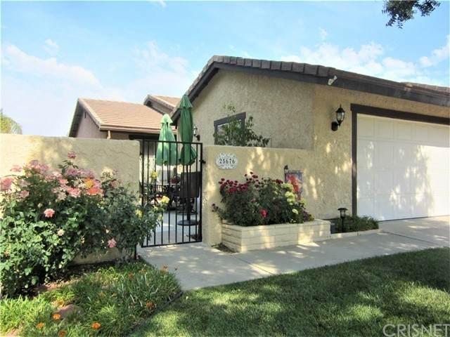 25676 Almendra Drive, Valencia, CA 91355 (#SR21129990) :: TruLine Realty