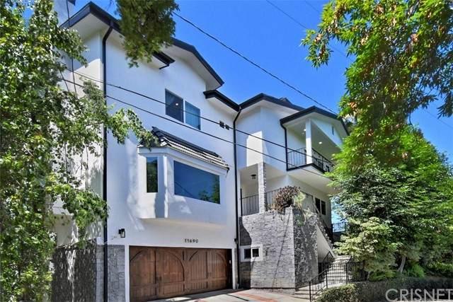 11690 Laurelcrest Drive, Studio City, CA 91604 (#SR21131676) :: Montemayor & Associates