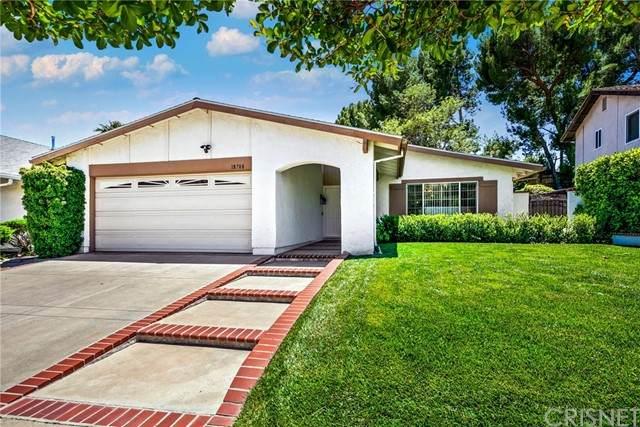 18708 Brasilia Drive, Porter Ranch, CA 91326 (#SR21134219) :: Montemayor & Associates