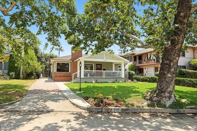 706 Arroyo Drive, South Pasadena, CA 91030 (#P1-5337) :: TruLine Realty