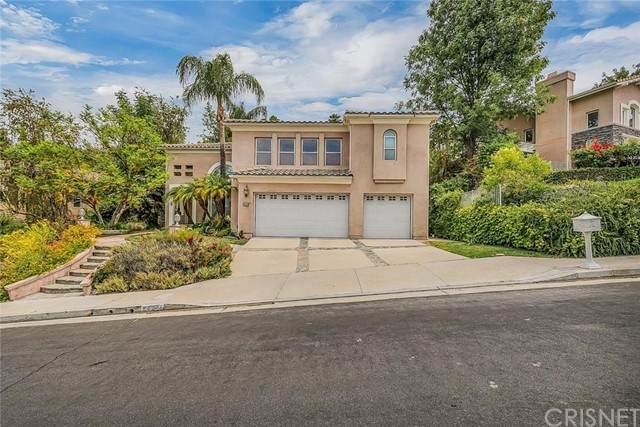 24241 Hillhurst Drive, West Hills, CA 91307 (#SR21132124) :: The Grillo Group