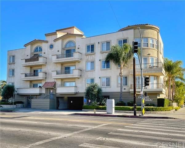 6800 Corbin Avenue #110, Reseda, CA 91335 (#SR21135867) :: Randy Plaice and Associates
