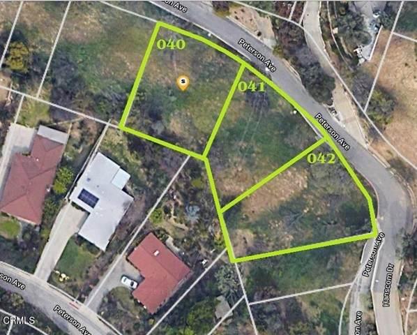 0 Peterson Avenue, South Pasadena, CA 91030 (#P1-5510) :: The Bobnes Group Real Estate
