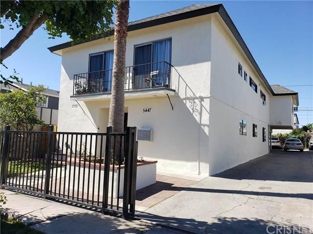 5447 Geer Street, Los Angeles, CA 90016 (#SR21160111) :: TruLine Realty
