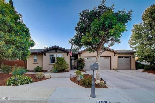 145 Wormwood Street, Ojai, CA 93023 (#V1-7339) :: Berkshire Hathaway HomeServices California Properties