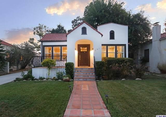 241 S Vinedo Avenue, Pasadena, CA 91107 (#320007030) :: Montemayor & Associates