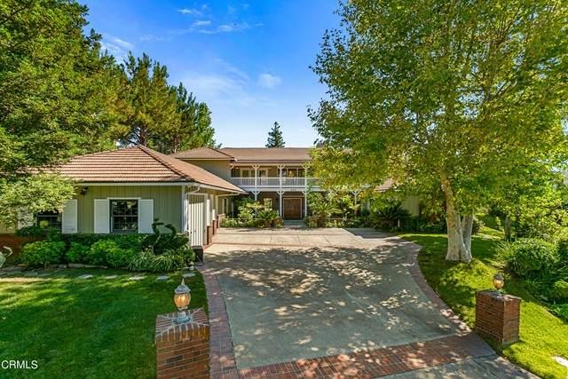 800 Greenridge Drive, La Canada Flintridge, CA 91011 (#P1-5950) :: Lydia Gable Realty Group