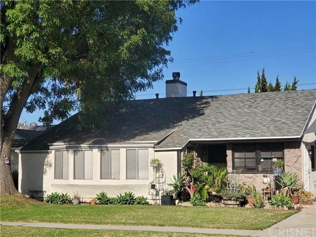 8021 Lasaine Avenue, Northridge, CA 91325 (#SR21162079) :: Compass