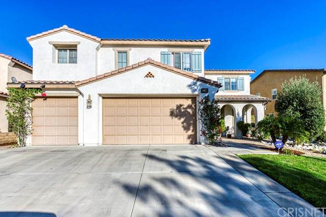 27366 Rose Mallow Lane, Canyon Country, CA 91387 (#SR21167184) :: The Parsons Team
