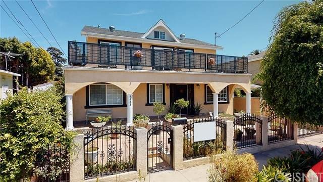 2414 S Burnside Avenue, Los Angeles, CA 90016 (#SR21163066) :: TruLine Realty