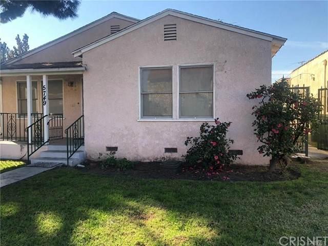 5749 Fair Avenue, North Hollywood, CA 91601 (#SR21169103) :: The Parsons Team