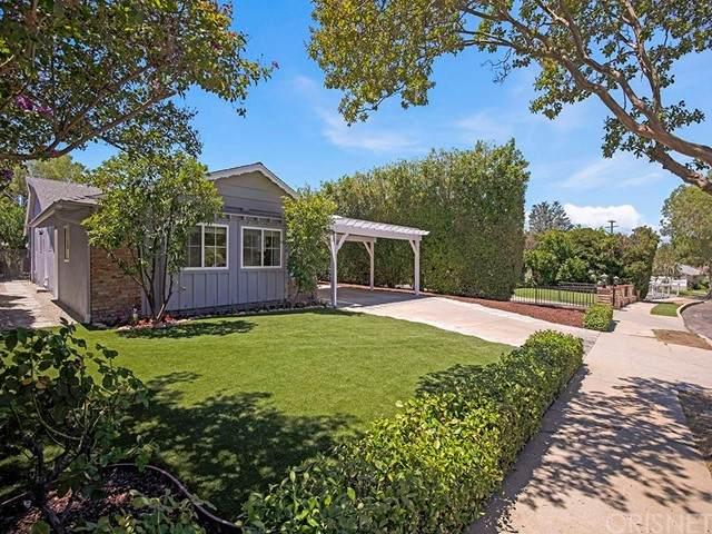 4731 Santa Lucia Drive, Woodland Hills, CA 91364 (#SR21167450) :: TruLine Realty