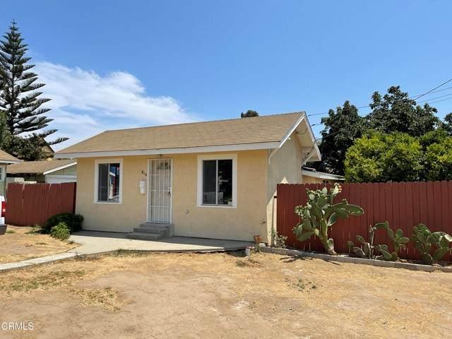 816 E Pleasant Street, Santa Paula, CA 93060 (#V1-7818) :: The Suarez Team