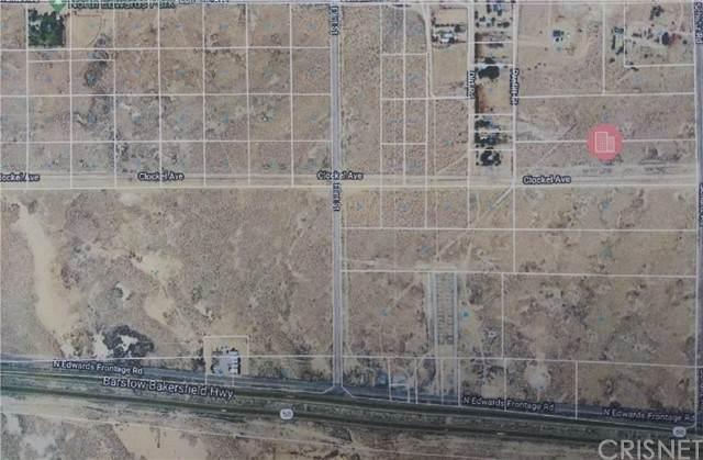0 Shultz, North Edwards, CA 93523 (#SR21180990) :: Lydia Gable Realty Group