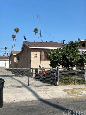 5918 Bonsallo Avenue, Los Angeles, CA 90044 (#SR21192376) :: The Suarez Team