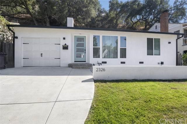 2326 E Glenoaks Boulevard, Glendale, CA 91206 (#SR21204758) :: The Bobnes Group Real Estate
