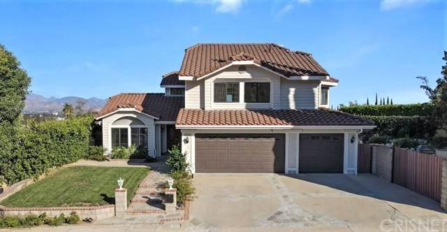 17442 Tuscan Drive, Granada Hills, CA 91344 (#SR21210292) :: The Suarez Team