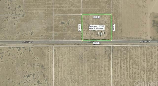 0 Ave F & 57th St E, Lancaster, CA 93535 (#SR21210521) :: Lydia Gable Realty Group