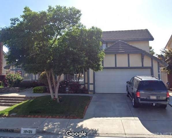 39428 Chantilly Lane, Palmdale, CA 93551 (#SR21213346) :: TruLine Realty