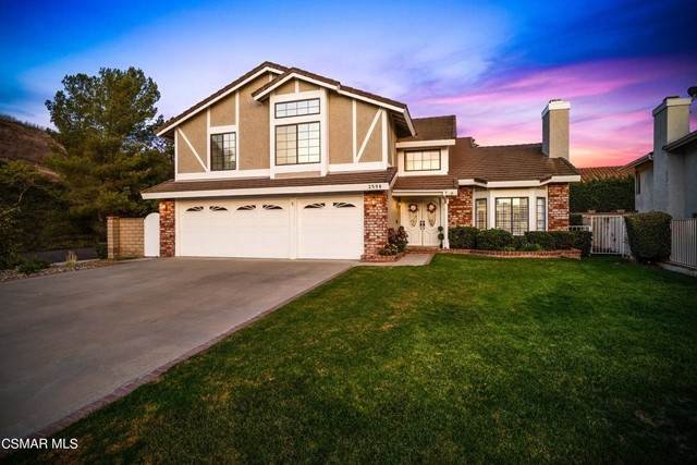 2598 Covent Garden Court, Thousand Oaks, CA 91362 (#221005464) :: The Bobnes Group Real Estate