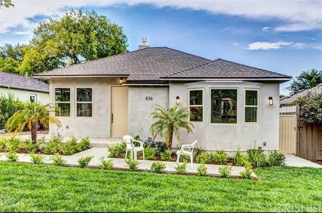 836 E Cedar Avenue, Burbank, CA 91501 (#SR21225374) :: The Bobnes Group Real Estate